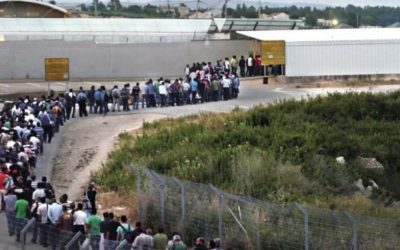 The Palestinian labors Inside the Green line, in the face of death